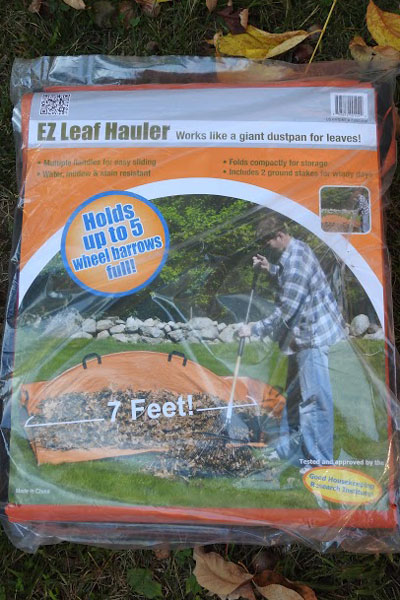 EZ Leaf Hauler package
