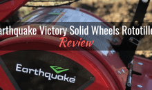 Earthquake Victory Rear Tine Rototiller (29702): Product Review