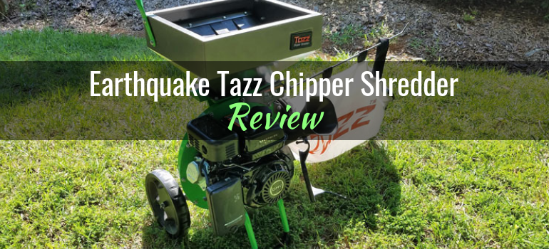 earthquake tazz chipper shredder 30520 k32 product review