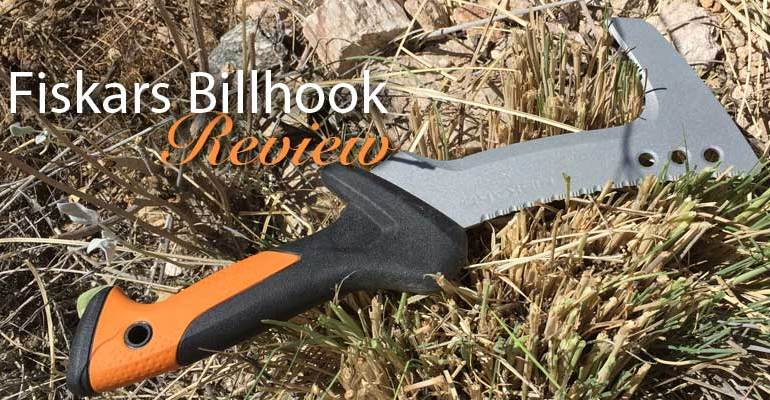Fiskars Billhook review