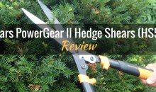 Fiskars PowerGear II Hedge Shears (HS551): Product Review