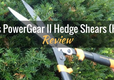 Fiskars PowerGear II Hedge Shears HS551 Featured