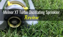 Melnor XT Turbo Oscillating Sprinkler: Product Review