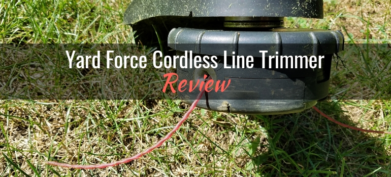 Yard force cordless line trimmer