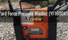Yard Force Pressure Washer (YF1600A1): Product Review