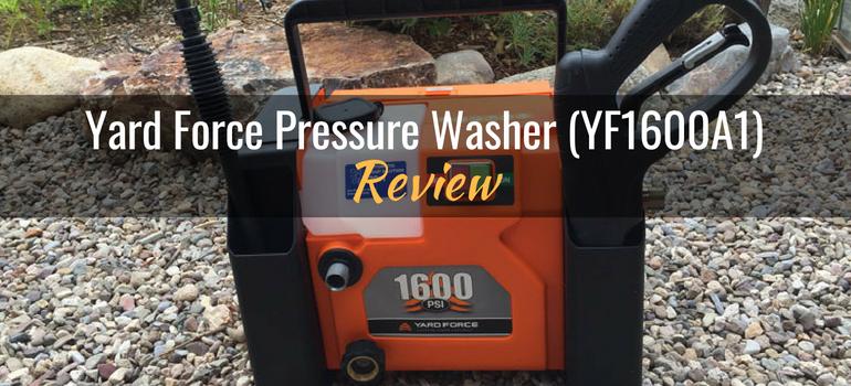 Yard force pressure washer