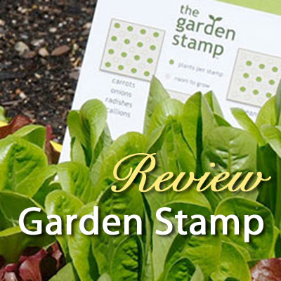 Garden Stamp Seed Planting Guide