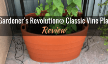 The Gardener's Revolution® Classic Vine Planter: Product Review