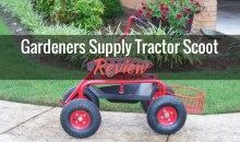 Deluxe Tractor Scoot from Gardener's Supply Company: Product Review
