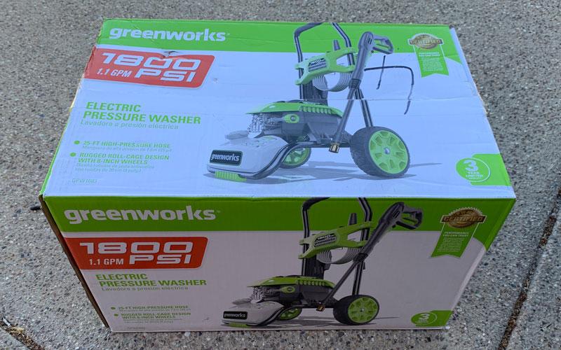 Greenworks 1800 PSI Electric Pressure Washer (GPW 1803
