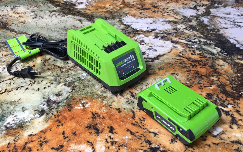 Greenworks-24-Volt-Sweeper-battery-and-charger