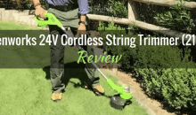 "Greenworks 12"" 24V Cordless String Trimmer (21342): Product Review"