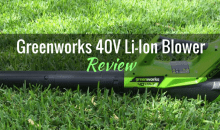 Greenworks 40V Lithium-Ion Axial Blower (2400802): Product Review