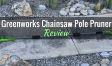 "Greenworks G-MAX 40V Lithium-Ion Cordless 8"" Pole Saw (20672): Product Review"