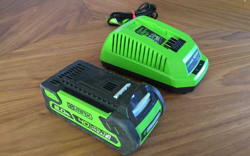 Greenworks Chainsaw battery and charger