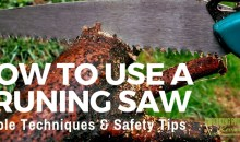 How to Use a Pruning Saw: Technique & Safety Tips