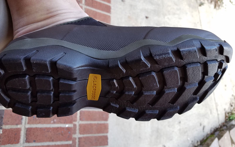 LaCrosse Alpha Muddy Mule Shoe sole