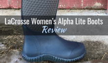 LaCrosse Women's Alpha Lite Boots: Review