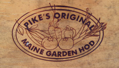 Maine garden hod made in Maine