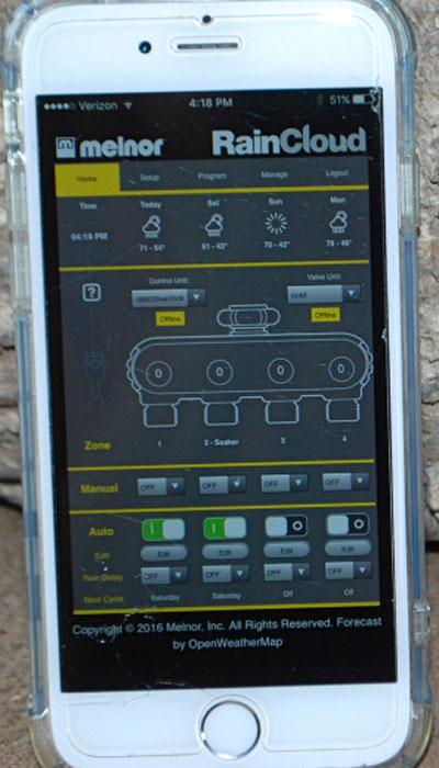 Melnor-raincloud-mobile-app