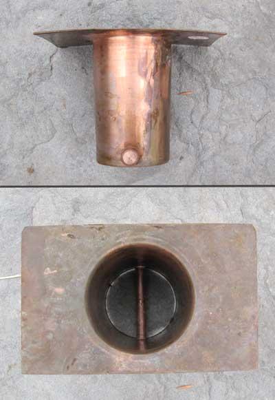 rain chain connector