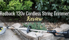 Redback 120vRX Lithium-Ion Cordless String Trimmer: Product Review