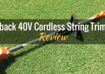 Redback 40V Lithium Ion Cordless String Trimmer Featured