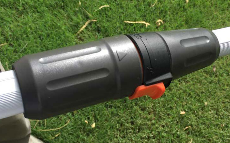 Redback 40V Lithium Ion Cordless String Trimmer Shaft-Extention-90-Degree Rotation