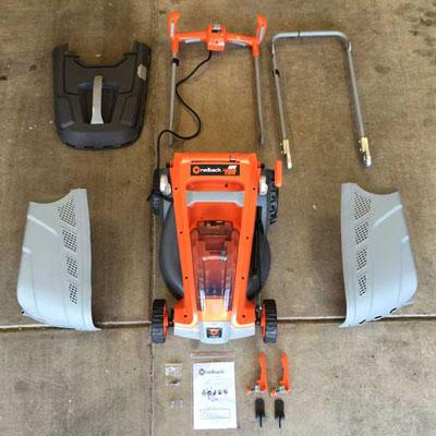Redback 40V Lithium Ion Mower E137C Parts