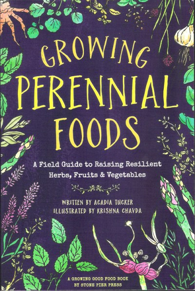 Growing Perennial Foods Book Cover