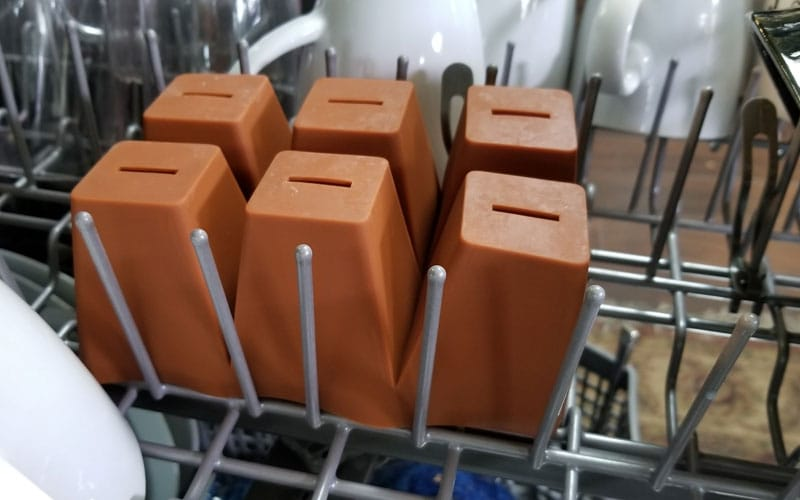 Sili-Seedlings tray in dishwasher