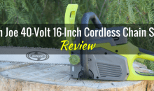 Sun Joe 40-Volt 16-Inch Battery-Powered Chainsaw (iON 16CS): Product Review