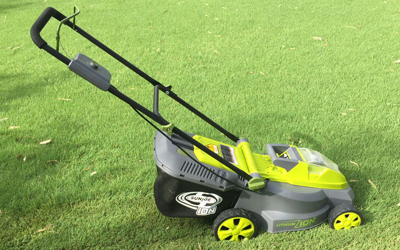 SunJoe Cordless Lawn Mower 16LM