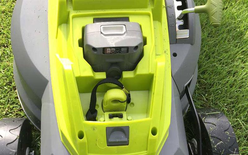 SunJoe Cordless Lawn Mower Safety Key