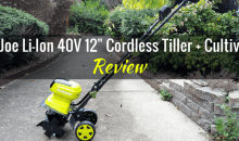 Sun Joe Lithium-Ion 40-volt 12-inch Cordless Tiller + Cultivator: Product Review