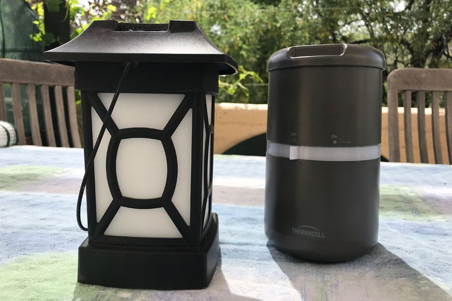 Thermacell lanterns