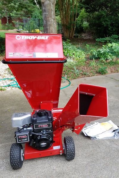 Troy Bilt Chipper Shredder fully assembled