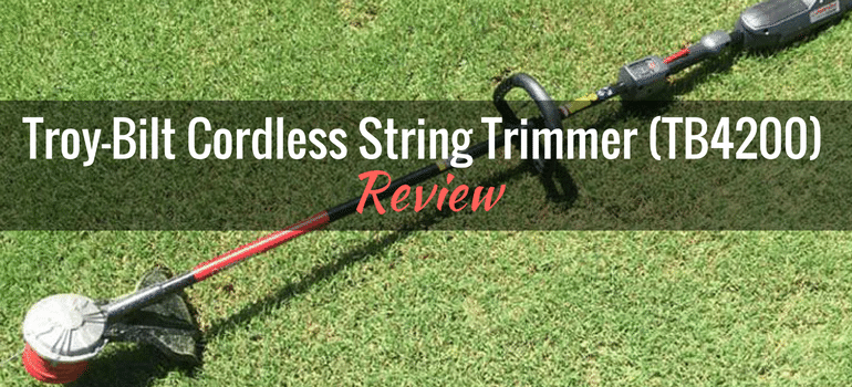 Troy-Bilt 40V Cordless String Trimmer (TB4200): Product Review
