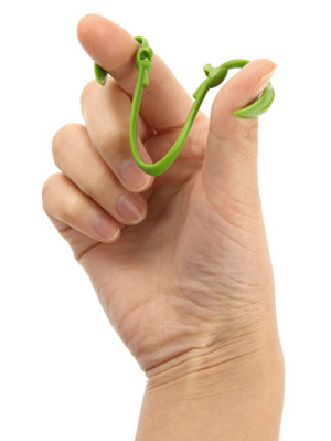 Ultimate Plant Clip fits easily around your thumb and index finger