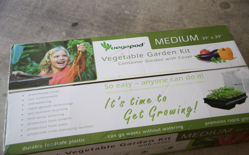 Vegepod packaging