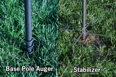 APS auger and stabilizer