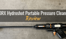 WORX Hydroshot Portable Power Cleaner WG644: Product Review