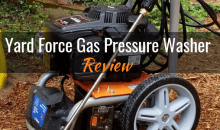 Yard Force Gas Pressure Washer (YF3100ES-R): Product Review