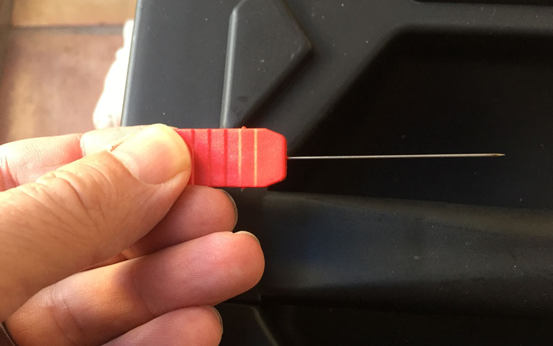 Yard Force Pressure Washer nozzle cleaning needle
