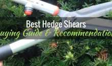 Best Hedge Shears: Guide & Recommendations 2017