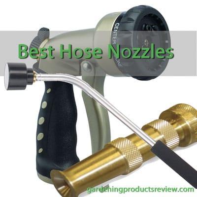 Best Garden Hose Nozzles & Sprayers