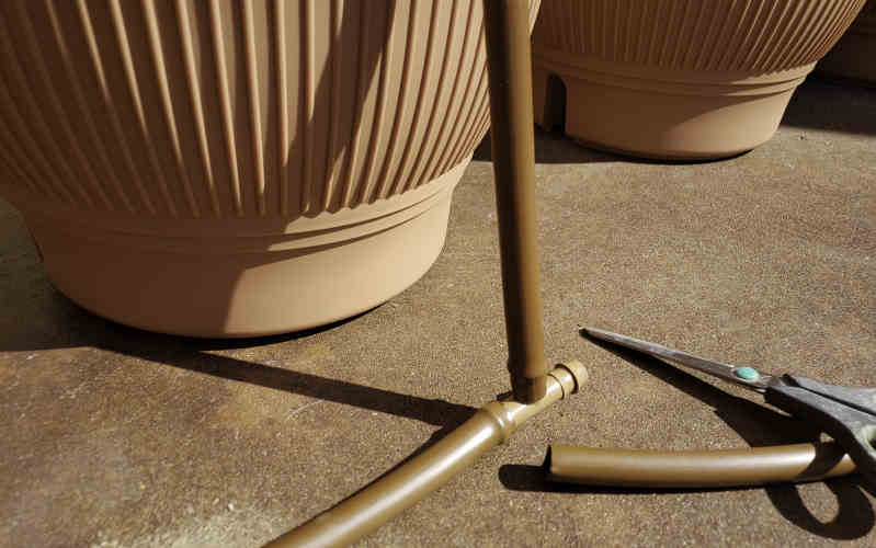 daisy rain sprinkler pots hose