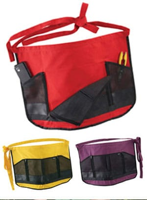 The Dramm Garden Apron is available in three fun colors