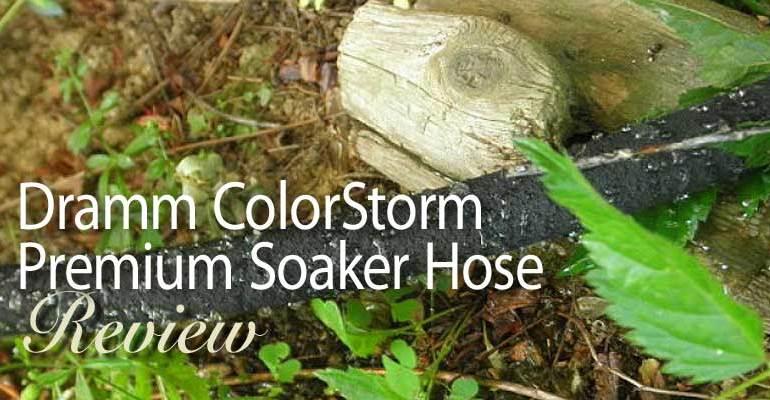 Dramm ColorStorm Premium Soaker Hose product review