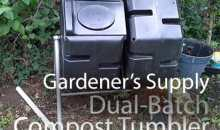 Dual-Batch Compost Tumbler from Gardener's Supply: Product Review